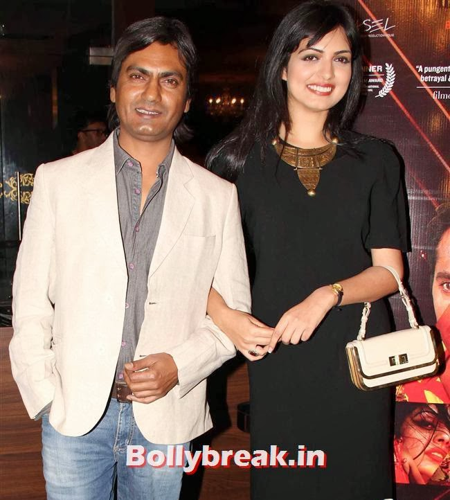 Nawazuddin Siddiqui and Niharika Singh, Niharika Singh at Miss Lovely First Look Launch
