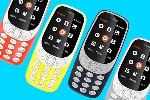 O Nokia 3310 foi apresentado pela Nokia na MWC 2017