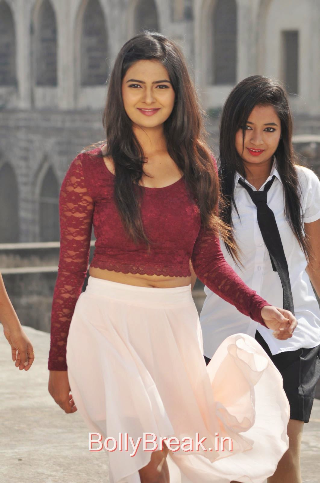 Neha Deshpande Stills in Maroon Top From The Bells Movie, Actress Neha Deshpande Hot HD Stills from The Bells Movie