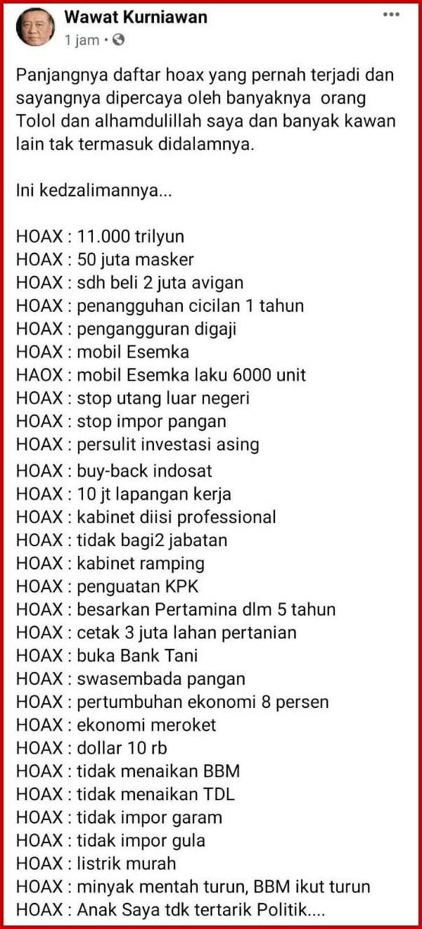 Hoax Liste