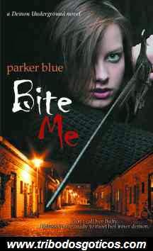 parker blue,livro,bite me