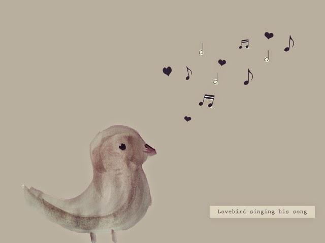 suara lovebird