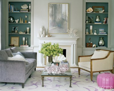 Bookcases In A Living Room Can Add Lot Of Interest Texture And Even Color Katie Leede