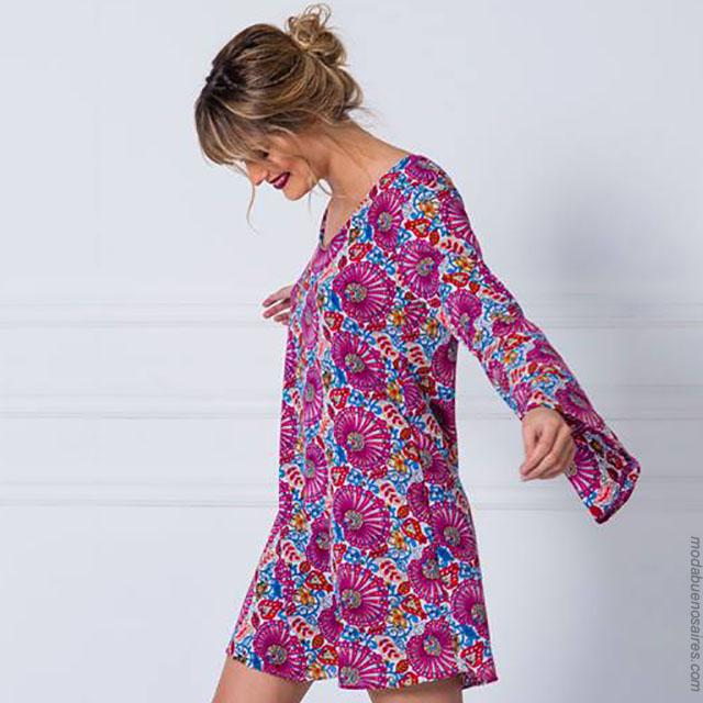Vestidos verano 2018. Moda verano 2018 ropa de mujer.