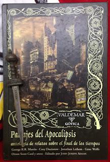 Portada del libro Paisajes del Apocalipsis, de varios autores