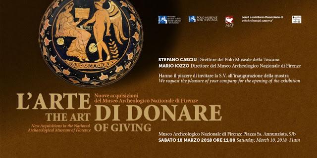 l'arte di donare