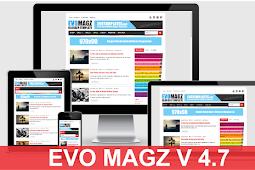 Template Blogger Evo Magz V4.7 Responsif Free download