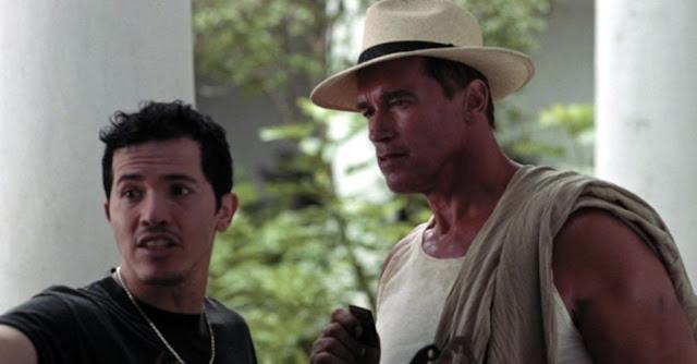 Arnold Schwarzenegger si John Leguizamo in Collateral Damage