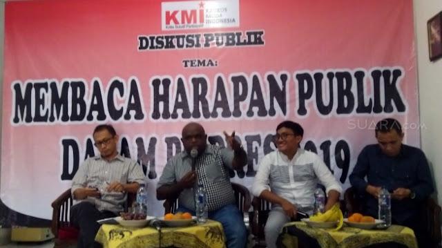 Pigai: Kecebong akan Migrasi Dukung Prabowo karena Kecewa Jokowi Pilih Maruf