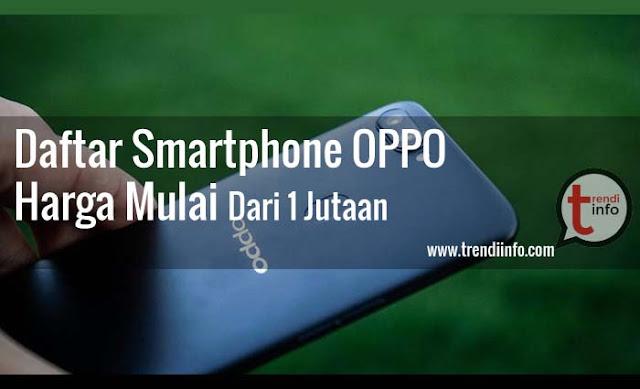 HP Oppo harga 1 jutaan