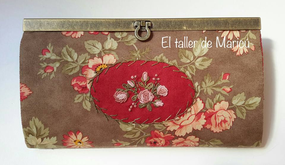 Cartera Monedero Bouquet