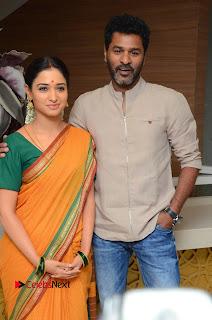 Tamannah PrabhuDeva Sonu Soon Pictures at Abhinetri Movie Firstlook Launch  0020