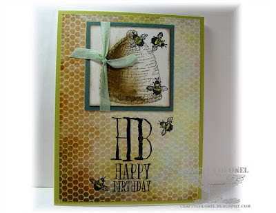 CraftyColonel Donna Nuce using Club Scrap Garden Shed Greetings Stamps