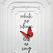 TLC Book Tours presents... WHITE AS SILENCE, RED AS SONG by Alessandro D'Avenia