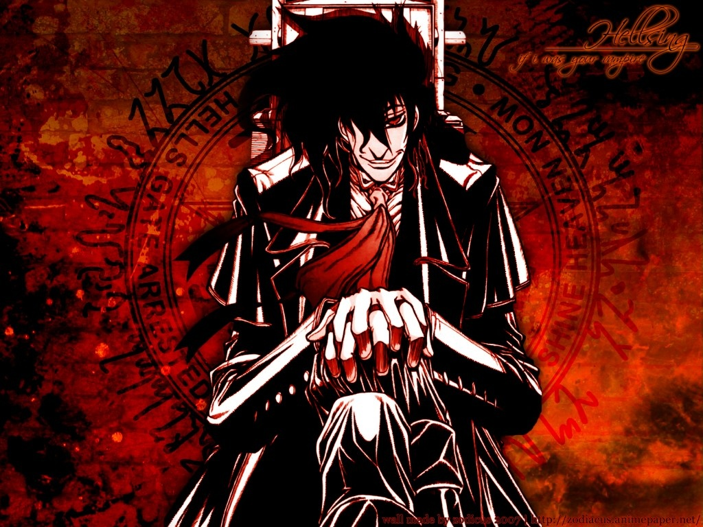 Polystonecity : Anime to watch: Hellsing UltimateHellsing Ultimate Characters