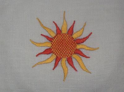 Weaver or Web Stitch - Punto tela