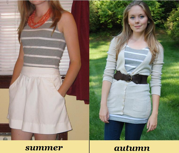a2ab57d5536 Petite Fashion Challenge  10  Take traditionally summer pieces (like tank  tops