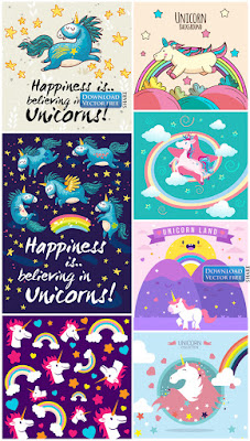 7-nen-do-hoa-nhung-chu-ky-lan-va-ngoi-sao-unicorn-background-vector-7308