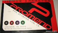 1 Promend ET15110 Rechargeable-battery Bicycle LED Lamp