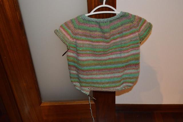 Deste fim de semana e do tricot viciante