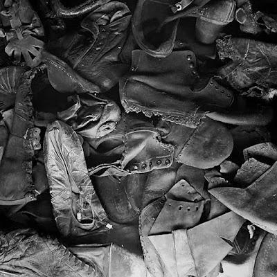 Zapatos de los prisioneros de Auschwitz