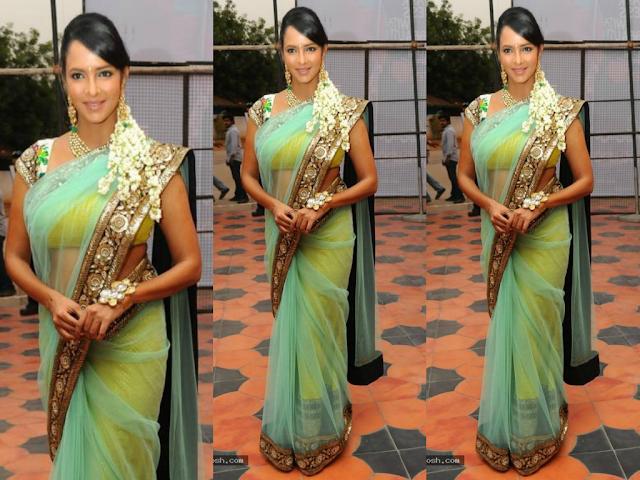 lakshmi+prasanna sabyasachi saree