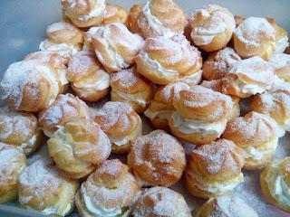 Resepi Cream Puffs