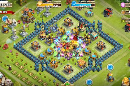 Cara Membeli Gems Castle Clash Menggunakan Pulsa (Konflik Kastil)