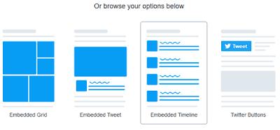 Come creare una twitter timeline con tutti i tweet del tuo canale