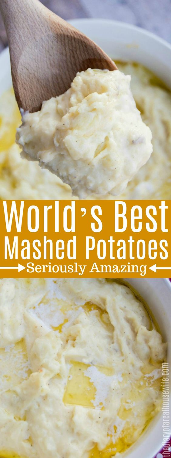 World's Best Mashed Potatoes