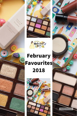 February Favourites 2018 Too Faced Gold Chocolate Vanilla Quartz