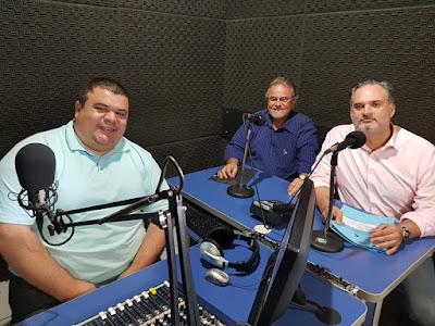 Diretores do CONSAÚDE dão entrevistas a rádios e abordam trabalho do HRLB