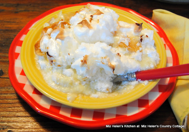 Favorite Coconut Cream Pie at Miz Helen's Country Cottage
