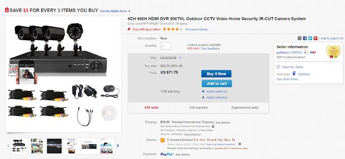Saving your pocket money for CCTV Installation