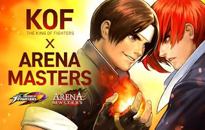 Los personajes de King of Fighters '98 en Arena Masters.