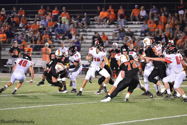 Metamora Varsity Football Defeated By Washington, Metamora Herald