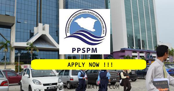 Jawatan Kosong di Perbadanan Pembangunan Sungai Dan Pantai Melaka (PPSPM) - 29 Oktober 2018