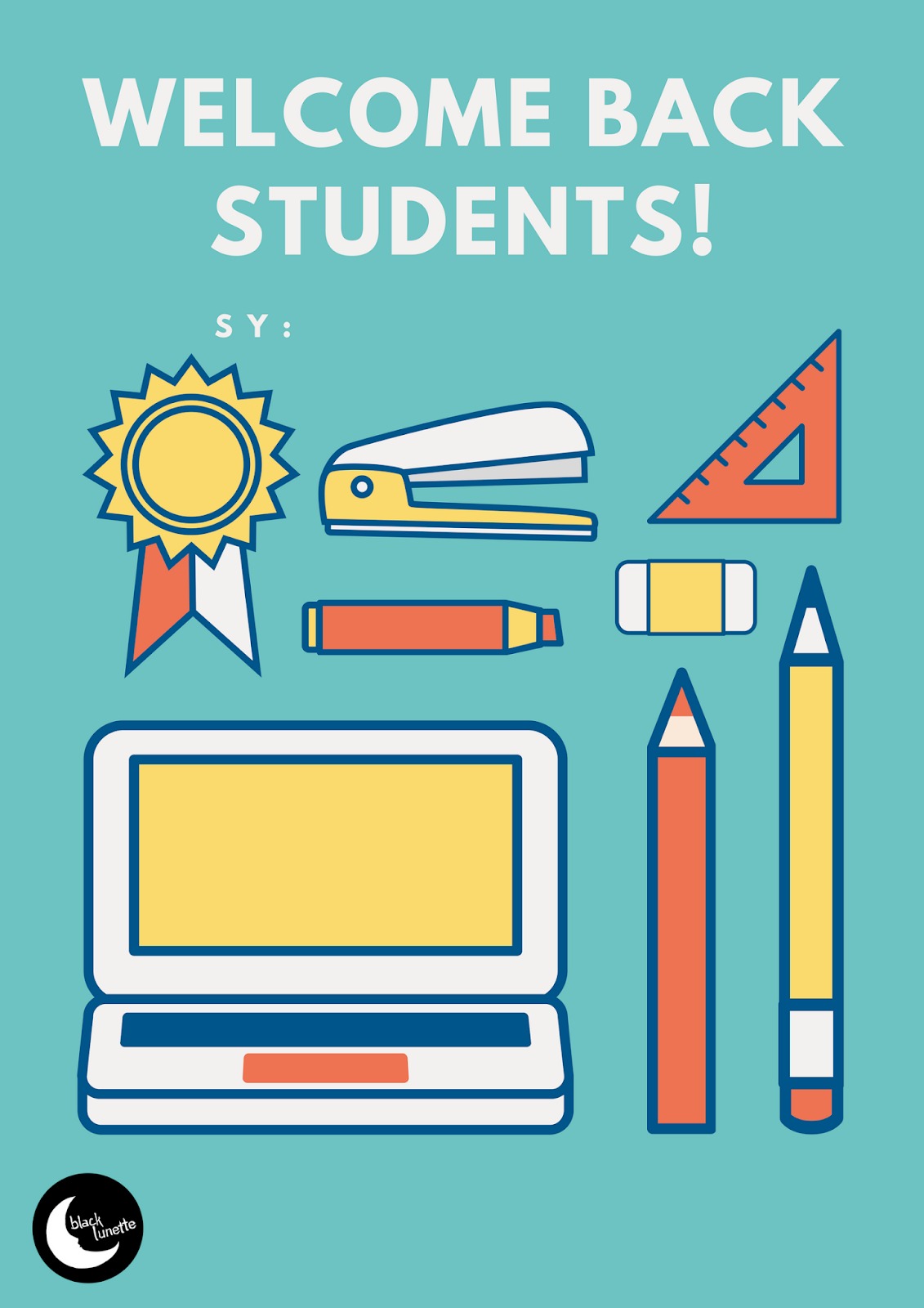 School Rules And Announcements Posters Templates Free