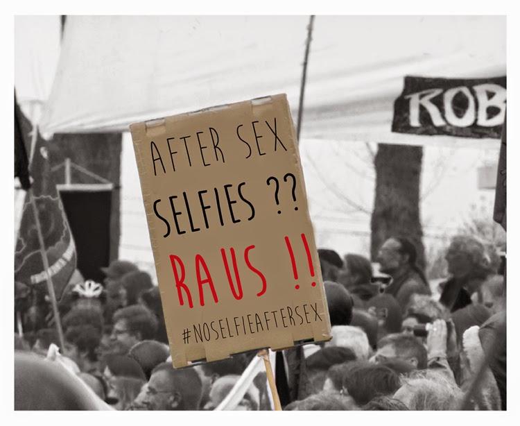 after sex selfie raus protest internet trends trend aus dem internet hashtag selfie virtuelle darstellung bild im internet