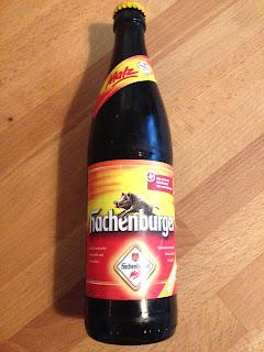 Flasche Hachenburger Malz