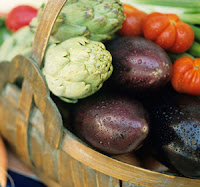 image of a basket of veggies