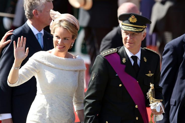 Abdication Of King Albert II  & Inauguration Of King Philippe -  Civil and Military Parade