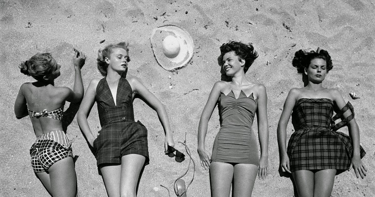 Beautiful Florida Beach Fashions In 1950 Vintage Everyday