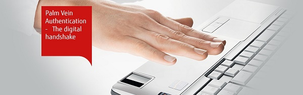 Fujitsu Introduces Palm Vein Authentication Feature