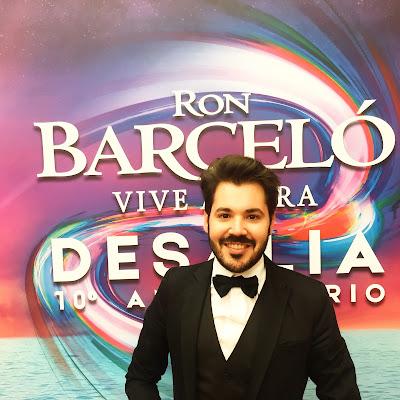 Rubén Lagarejo en 10º aniversario de Ron Barceló Desalia
