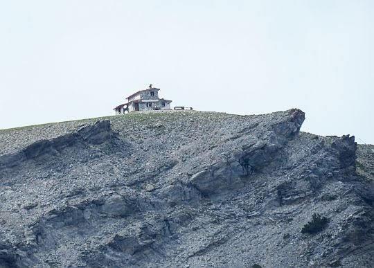 Christos Kakalos Refuge C na Płaskowyżu Muz.