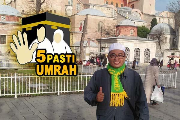 Ust. H. Achmad Rifai Gatot, S.Ag, M.M (Owner Amana Tour)