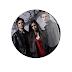 TVD (The Vampire Diaries) - Botton (#TVD003) - 3,8 cm