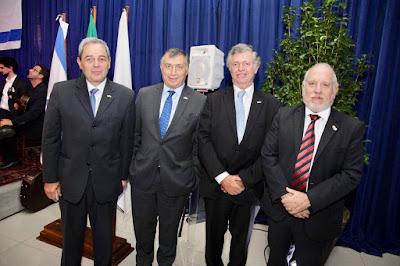 Jantar de Yom Haatzmaut comemorou os 70 anos de Israel em Curitiba
