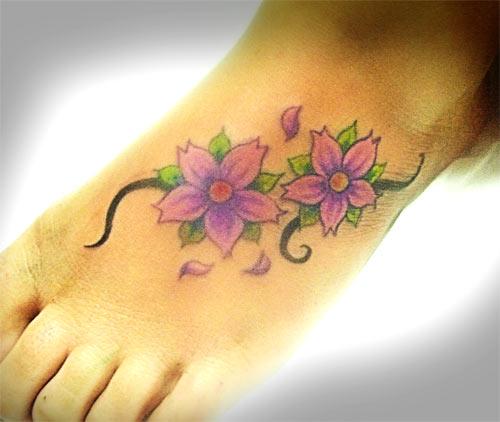 tattoo pé